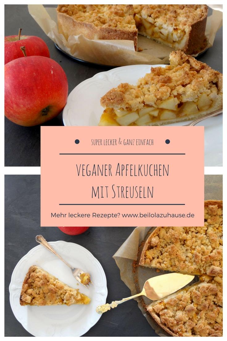 Ein veganer Apfelkuchen der überzeugt