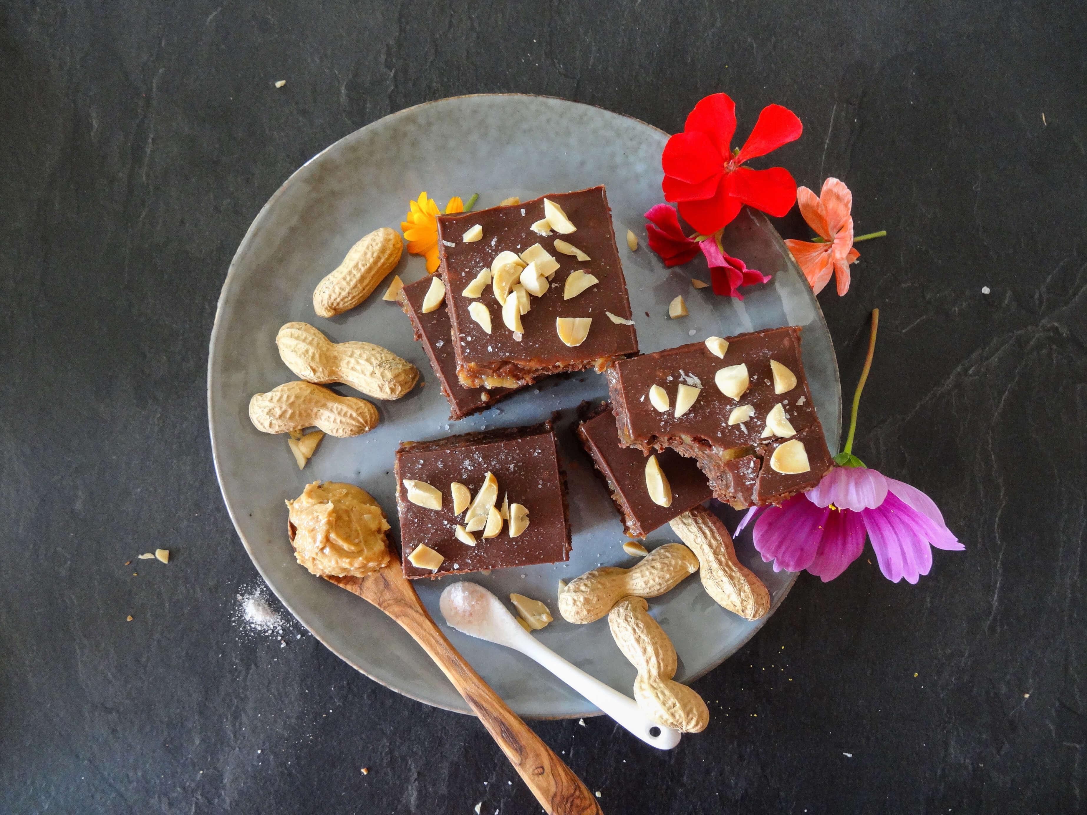 Erdnussbutter_Schok_Brownies, saftig und unglaublich lecker